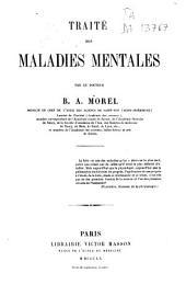 Traité des maladies mentales