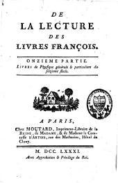 Mélanges Tirés d'une Grande Bibliothèque: Volume21