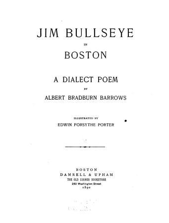 Jim Bullseye in Boston PDF