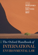 The Oxford Handbook of International Environmental Law PDF