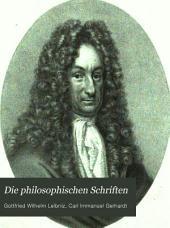 Die philosophischen Schriften: Band 1