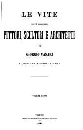 Opere di Giorgio Vasari: secondo le migliori stampe e con alcuni scritti inediti