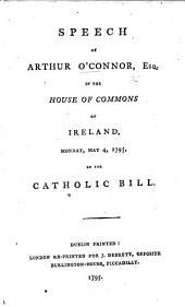 Speech ... on the Catholic Bill
