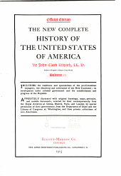 The New Complete History of the United States of America: Volume 4