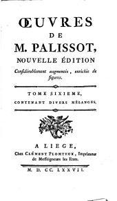 Œuvres [i.e. Oeuvres] de M. Palissot