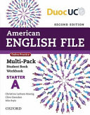 American English File 2e Starter Multi Pack A PDF