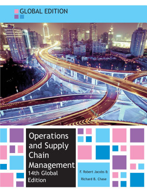 EBOOK  Operations and Supply Chain Management  Global edition PDF