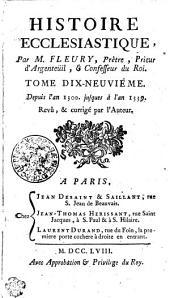 Histoire Ecclesiastique: Depuis l'an 1300. jusques à l'an 1339. Tome Dix-Neuviéme, Volume19