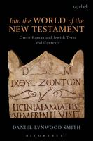 Into the World of the New Testament PDF
