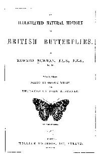 An Illustrated Natural History of British Butterflies Book