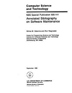 Annotated Bibliography on Software Maintenance PDF
