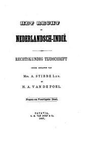 Indisch tijdschrift van het recht: orgaan der Nederlandsch-Indische juristen-vereeniging, Volume 49