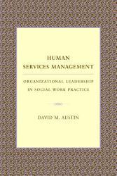 Human Services Management Book PDF