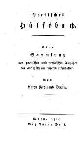 Poetisches Hülfsbuch