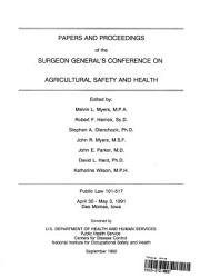 Papers And Proceedings Of The Surgeon General S Conference On Agricultural Safety And Health Book PDF