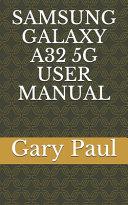 Samsung Galaxy A32 5g User Manual