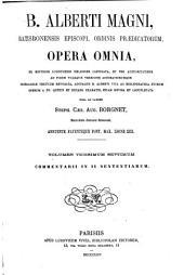 B. Alberti Magni Opera omnia: Volume 27