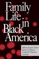 Family Life in Black America