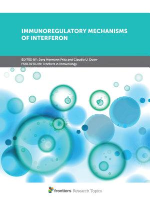 Immunoregulatory Mechanisms of Interferon PDF