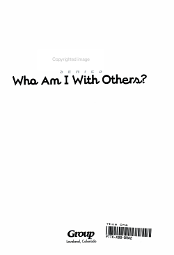 Who Am I with Others  PDF