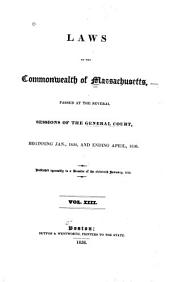 The Laws of the Commonwealth of Massachusetts: Volume 13