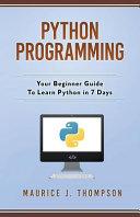 Python Programming PDF