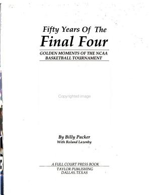 Fifty Years of the Final Four PDF