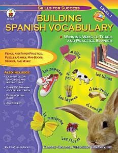 Building Spanish Vocabulary  Grades PK   12 Book
