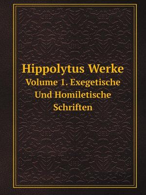 Hippolytus Werke PDF
