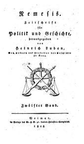 Nemesis: Zeitschrift für Politik und Geschichte, Band 12