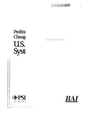 Profiting from Change in the U S  Payments System PDF