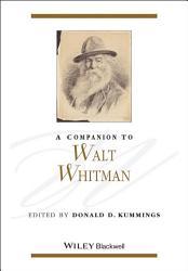 A Companion to Walt Whitman PDF