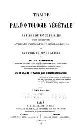 Traité de paléontologie végétale: ou, La flore du monde primitif dans ses rapports avec les formations géologiques et la flore du monde actuel, Volume2