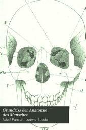 Grundriss der Anatomie des Menschen