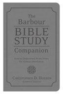 The Barbour Bible Study Companion PDF