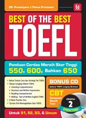 Best Of The Best TOEFL: (Chapter 2 : STUCTURE & WRITTEN EXPRESSION)