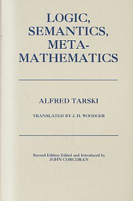 Logic  Semantics  Metamathematics