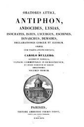 Oratores Attici: Volumes 1-2