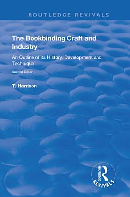 The Bookbinding Craft and Industry
