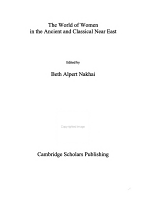 The World of Women in the Ancient and Classical Near East PDF
