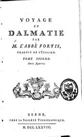 Voyage en Dalmatie: Volume2