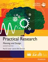 Practical Research  Planning and Design  Global Edition PDF