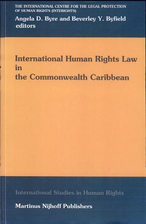 International Human Rights Law in the Commonwealth Caribbean PDF