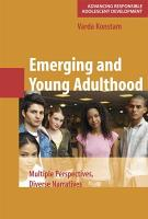Emerging and Young Adulthood PDF