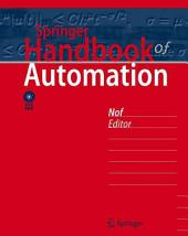 Springer Handbook of Automation