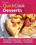 Quick Cook Desserts