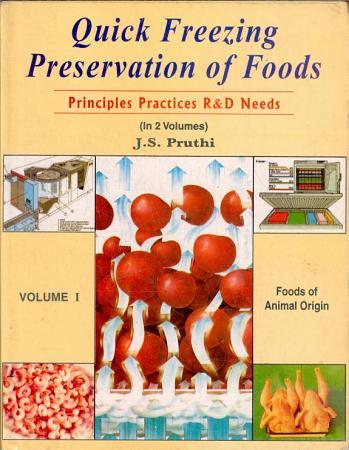 Quick Freezing Preservation of Foods  Foods of animal origin PDF