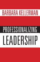 Professionalizing Leadership PDF