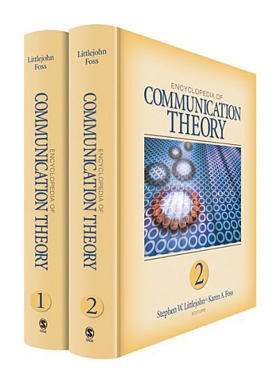 Encyclopedia of Communication Theory PDF