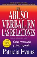 El abuso verbal en las relaciones  The Verbally Abusive Relationship  PDF